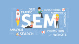 Search engine marketing concept. - 173720320