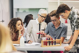 Students on Chemistry Class - 173753762
