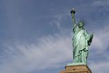Statue De La Liberté, calée à droite