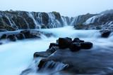 Bruarfoss waterfall in summer time - 173773320