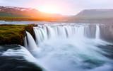 Godafoss waterfall on Skjalfandafljot river - 173773935