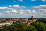 View on beautiful Gdansk city, Pomorze, Poland