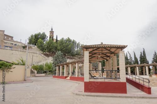 The village of Escatron in Zaragoza, Aragon