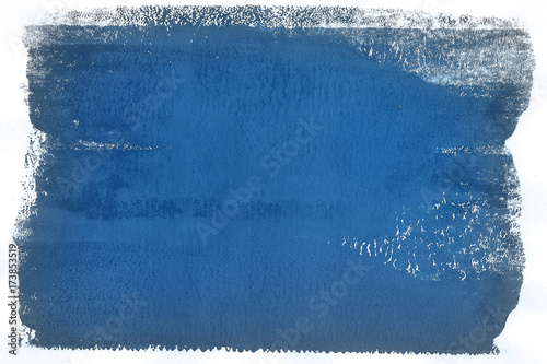 Staande foto Abstract wave Blue Tone Modern Abstract Art Background Pattern Design