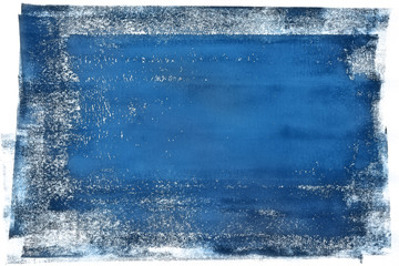 Blue Tone Modern Abstract Art Background Pattern Design