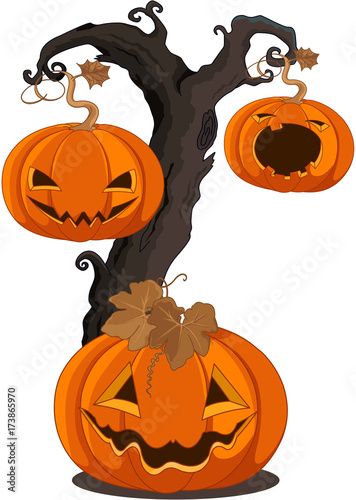 In de dag Sprookjeswereld Halloween Pumpkins