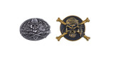 Pirate Badges Wall Sticker