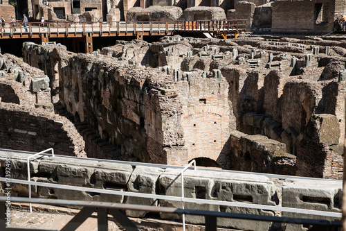 colosseum of rome Poster