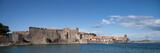Panorama sur le château de Collioure - 173934316