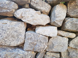 gray wall of stones background texture - 173941950