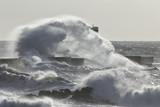 Big sea wave splash - 173944537