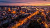 Zachód słońca w Gdańsku - 173957107