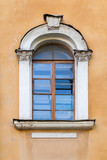 Classical window with arch