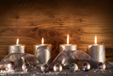Christmas decoration for the advent season - 173973920