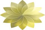 Mustard Gray Tone Modern Abstract Art Background Pattern Design