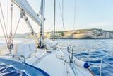 yacht near Sardinia island - 173994730