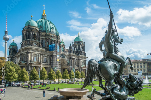 Tuinposter Berlijn Berlin - Dom