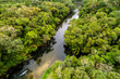 Quadro Aerial view of Amazon rainforest, Brazil