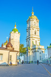 The two towers of Pochayiv Lavra