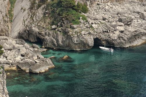 Fotobehang Napels Italy,Capri;