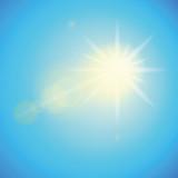sonnenschein blauer himmel - 174048755
