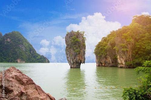 Fotobehang Thailand James Bond Island in Thailand