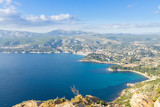 Cassis view from Cape Canaille top, France - 174049387