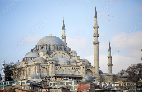 The Blue Mosque in Istanbul, Turkey Poster