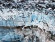 Closeup of Lamplugh Glacier in Glacier Bay