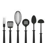 Kitchen utensils icons icon vector illustration graphic design - 174119946