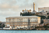 alcatraz prison view, san francisco - 174172981