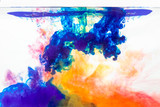 mix colours in water - 174173169