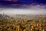 Aerial view of Manhattan's skyline - 174175574