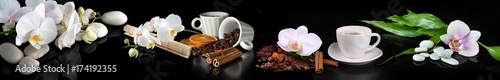 coffe,flowers - 174192355