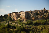 Pitigliano town in province of Grosseto, Tuscany - 174206107