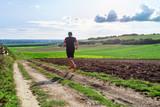 footing dans les chemins