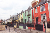 Fototapety Paris - picturesque colored houses