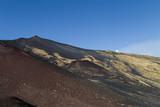 Nebenkrater Vulkan