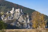 medieval castle Strecno, Slovakia - 174238738