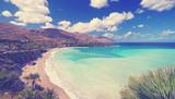 fantastischer Blick über die Strandbucht - 174239116