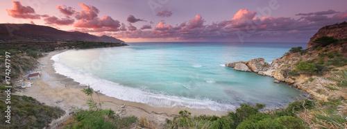 Fotobehang Lavendel Urlaubsparadies Sizilien
