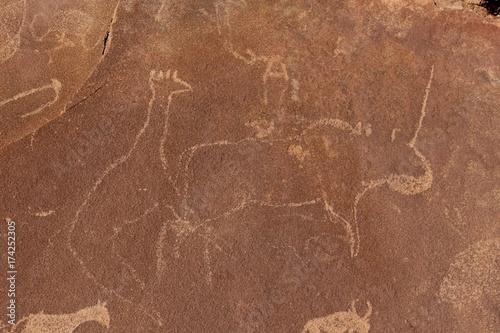Gravures rupestre