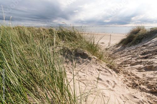 Nordsee, Strand auf Langenoog: Ruhe am Meer, Dünen, Natur, Entspannung, Erholung, Ferien, Urlaub, Meditation :)