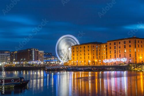 Wheel Of Liverpool At Albert Dock, Liverpool, UK Poster