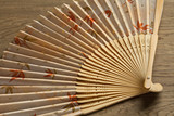 Traditional Japanese hand fan - 174274908