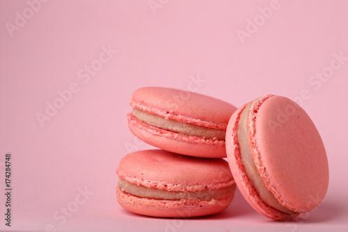 Keuken foto achterwand Macarons Macaroons