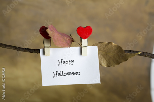 Happy Halloween Or Thanksgiving Greeting Card