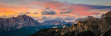 sunset at the Dolomites Alps.Italy - 174311965