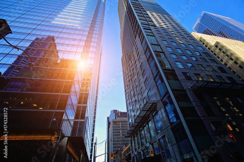 Canvas Toronto Toronto skyline in financial district