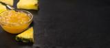 Fresh made Pineapple Jam